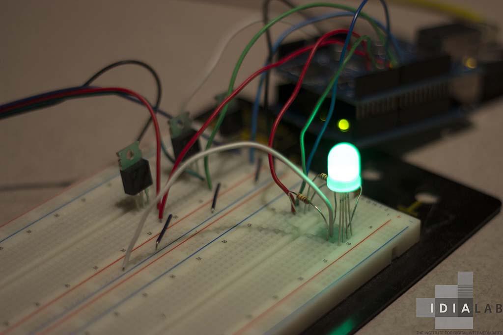 Mobile arduino controller idia lab